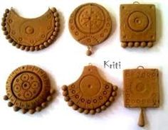 air dry clay jewellery - Google Search