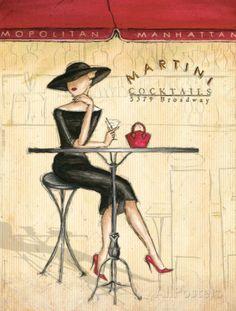 Femme Elegante III Julisteet tekijänä Andrea Laliberte AllPosters.fi-sivustossa