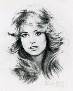 Farrah- didn't need to act she had that hair.  Revolutionary hair.  Beautiful woman