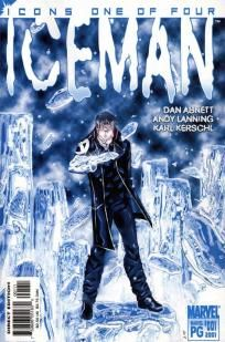 Ice Man - X-Men Icons 1 2 3 4 [2001] complete set ---> shipping is $0.01!!!