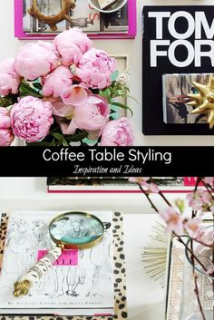 Coffee Table Styling : Inspiration and Ideas for your home