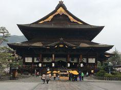 Zenko-ji in Nagano, Japan.