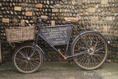 Image detail for -Old Bicycle pictures, free use image, 9909-02-9610 by FreeFoto.com