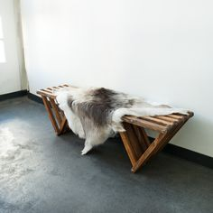 Lovely Dark Sami Reindeer Hide | Black Sheep [White light] | Place it on a bench, upon the couch or use it on the floor for an instant cosy natural look | STIL INSPIRATION Great.ly Boutique #InstantGreatlyMakeover