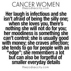 Best zodiac sign for cancer woman