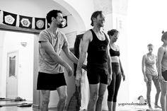 John Scott's second level Ashtanga yoga teacher training 2014 at yogainsalento.com