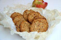Eple og kanel kjeks Scones, Panna Cotta, Muffins, Food And Drink, Gluten, Snacks, Cookies, Baking, Breakfast