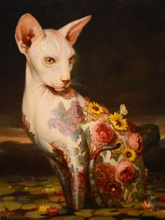"art-e-fúria: ""Untitled - Martin Wittfooth"" (anterior) """""