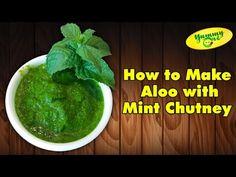 Bharathi's Kitchen Aloo (Potato) with Mint Chutney Recipe