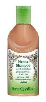 Neobio, Ihre Klassiker: Henna Shampoo 200ml von Logocos. Sehr leichter, angenehmer Geruch. Gute Kämmbarkeit. Bei Vitalia verkauft.