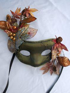 Mardi Gras Venetian Mask Mid Summers Night Dream by MaLadyMasks, $38.00