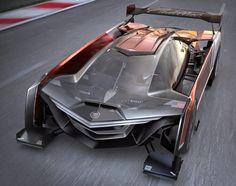 Cadilac Estill Súper Concept Car, diseñado por Ondrej Jirec