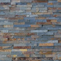 Buy natural multicolour slate split face tiles in size for interior & exterior walls, cladding & splash backs. Slate Wall Tiles, Slate Bathroom, Mosaic Wall Tiles, Kitchen Wall Tiles, Wall And Floor Tiles, Flooring Tiles, Bathroom Ideas, Cladding Panels, Wall Cladding