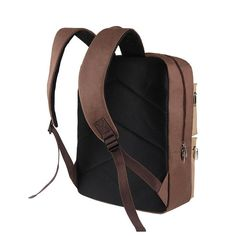 17inch Laptop Men Oxford Retro Business Travel Backpack Large Capacity - US$37.32