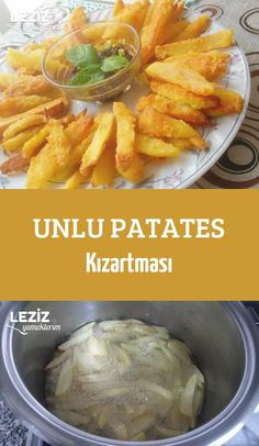 Unlu Patates Kızartması - Load Tutorial and Ideas Potato Recipes, Vegetable Recipes, New Recipes, Russian Recipes, Turkish Recipes, Appetizer Salads, Recipe Mix, Middle Eastern Recipes, Cata