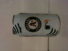 Limited Edition Budweiser 2012 Baseball Beer Can.  Oakland A's.