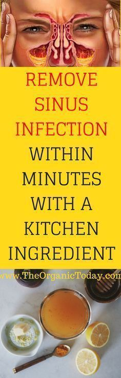 Remove Sinus Infection Within Minutes With A Kitchen Ingredient