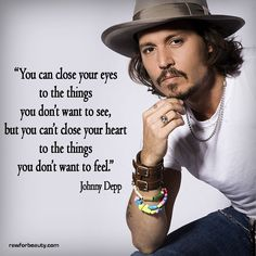 Johnny Depp on feelings Quotes By Famous People, People Quotes, Famous Quotes, Wise Quotes, Inspirational Quotes, Qoutes, Swag Quotes, Lyric Quotes, Quotes Quotes