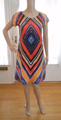 Animapop reversible art to wear dress made in Italy size XS   eBay