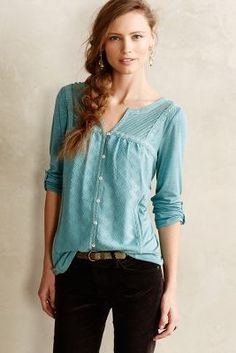 Meadow Rue Tavia Peasant Top #anthroregistry #sale
