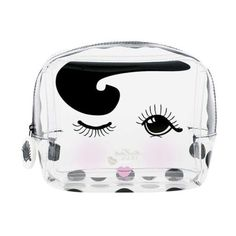 Medium Eyes Open & Closed Cosmetic Bag (540 HNL) ❤ liked on Polyvore featuring beauty products, beauty accessories, bags & cases, cosmetic purse, makeup bag case, purse makeup bag, make up purse and dop kit