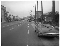 W. Sunset Blvd. & N. Fairfax Ave., Hollywood, Los Angeles CA (1971-72)