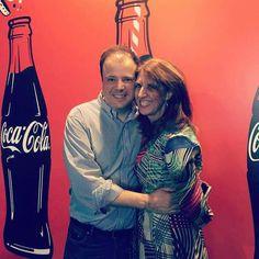 Eu e meu amor fazendo parte das comemorações dos 100  anos da Bottle Coca-Cola 2015