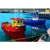 "* Eoin O' Connor Print - ""Larissa & Friend"" My Precious, Fine Art Prints, Boat, Friends, Artwork, Fun, Travel, Paintings, Amigos"
