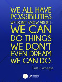 Dale Carnegie was an American writer and lecturer and the developer of famous courses in self-improvement, salesmanship, corporate training, public speaking, and interpersonal skills. #Quotes #Inspiration