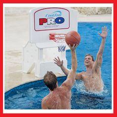 Cool Jam Pro, un panier de basket pour la piscine
