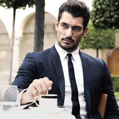 Talk about inspiration! David Gandy IS Grant Maxwell in The Talented Mr. Maxwell.