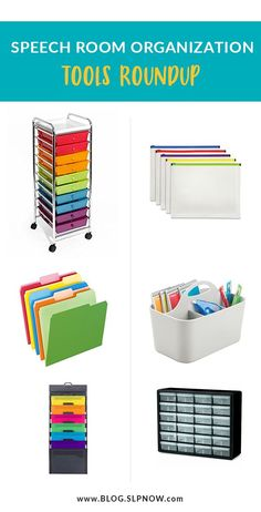 Check out this SLP's favorite tools to get (and stay) organized!