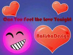 #NafishaDesign Can you feel the love tonight