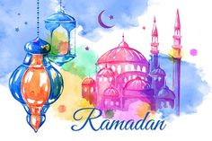 Ramadan. Banners and cards by Ulafant on @creativemarket