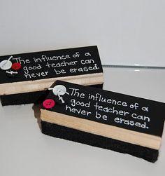 La influencia de un buen maestro, nunca puede borrarse. lindo y con sentimiento