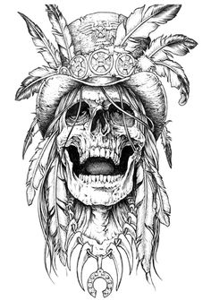 50 Stunning Eye Catching Tattoo Sketches Design Ideas Wagepon Ideas - If you re going to obtain a tattoo it s important to understand just precisely what you want F - Sketch Tattoo Design, Skull Tattoo Design, Skull Design, Sketch Design, Tattoo Sketches, Tattoo Drawings, Tattoo Designs, Drawings Of Skulls, Tattoo Art