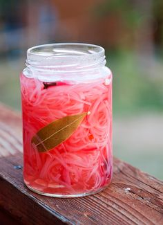 pickled red onions...yeah, I know, it's not chocolate, but I love pickled foods and I love onions...gotta try this!