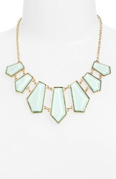 So reasonable and fashionable right now-Stephan & Co. Geometric Bib Necklace (Juniors)   Nordstrom