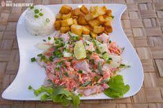 Poisson cru, a dish from French Polynesia