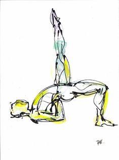 Yoga Series | Fine Art By Boryana Korcheva