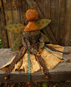 Primitive Fairy Angel doll.....