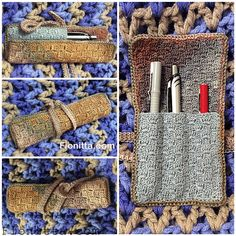 Crochet case for the stylus