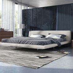 Kids, Work and Beautiful Modern Grey Bedroom Grey Decor - casitaandmanor Modern Minimalist Bedroom, Modern Master Bedroom, Modern Bedroom Design, Master Bedroom Design, Bed Design, Bedroom Designs, Modern Bedrooms, Modern Design, Bed Platform