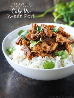 Cafe Rio Sweet Pork {Copycat}