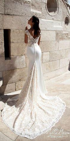 Amazing Milla Nova Wedding Dresses ❤ See more: http://www.weddingforward.com/milla-nova-wedding-dresses/ #weddings