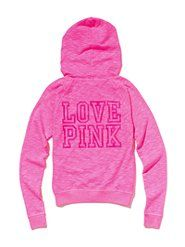 I LOVE this PINK hoodie for the breezy NorthWest summer nights.