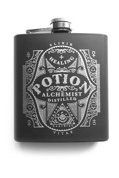 Stash away your potion of choice and restore hitpoints with the newest addition to your daily carry - the POTION gaming hipflask! An elegant access...