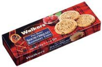 Walkers Shortbread Raspberry Thins, 4.2-Ounce Boxes (Pack of 4)