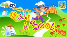 PLAY WITH TALES: PUSS IN BOOTS #FreeApp #Tales #Fairy #puzzle #memory #draw&color #draw #color #colorful #education #children #kid #preschool #book #ipad #iphone #android #iOS #educational #music #play #fun #world #learning #kids #app #colorful #education #book