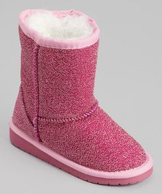 Love this Hot Pink Frost Boot on #zulily! #zulilyfinds